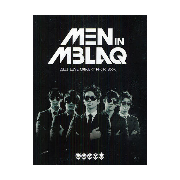 MEN IN MBLAQ 2011 LIVE CONCERT PHOTO BOOK/DECEMBER.32Co.,Ltd.