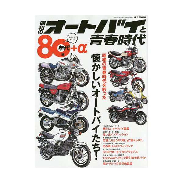 昭和のオートバイと青春時代 80年代+α