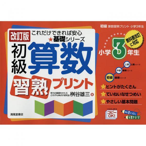 初級算数習熟プリント 小学3年生/桝谷雄三