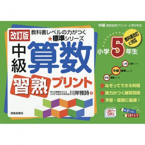 中級算数習熟プリント 小学5年生/川岸雅詩
