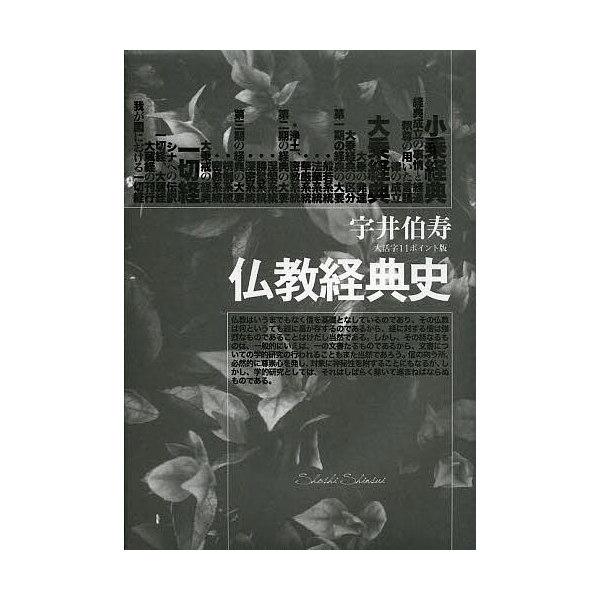 仏教経典史 大活字11ポイント版/宇井伯寿