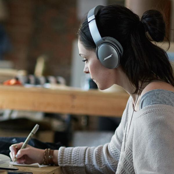 ワイヤレス ノイズキャンセリング ヘッドホン Bose QuietComfort 35 wireless headphones II シルバー / ボーズ公式ストア 全品ポイント5倍 送料無料