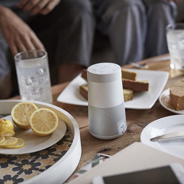 ワイヤレススピーカー Bose SoundLink Revolve Bluetooth speaker ラックスグレー / ボーズ公式ストア 全品ポイント5倍 送料無料
