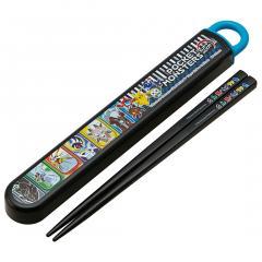 ABS2AM 食洗機対応スライド箸&箸箱セット <ポケットモンスター サン&ムーン 18> スケーター