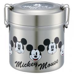 STLB0 超軽量真空ステンレスランチボックス 480ml <Mickey Mouse> スケーター