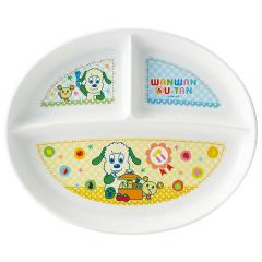XP17 食洗機対応ランチ皿 <いないいないばあっ!> スケーター