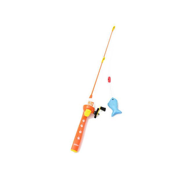 猫 おもちゃ ペットフレンド フィッシングトーイ 本体 1本 猫釣竿 猫じゃらし