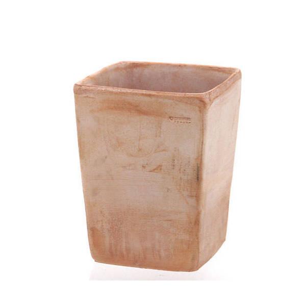 デローマ クアドロコペンハーゲンTE テラコッタ 23×30cm バラ テラコッタ 鉢
