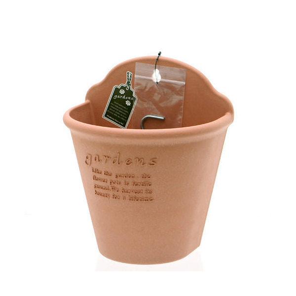 ハンギングエコポット 210 素焼き調 ガーデニング 鉢 ベランダガーデニング 室内園芸