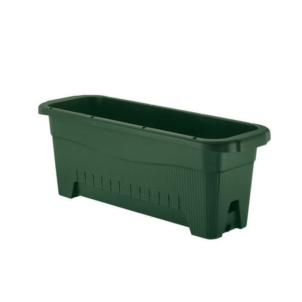 リッチェル 水ラク緑のカーテンプランター85型 プランター 底面給水 ベランダ菜園 家庭菜園 緑のカーテン ガーデニング お一人様1点限り