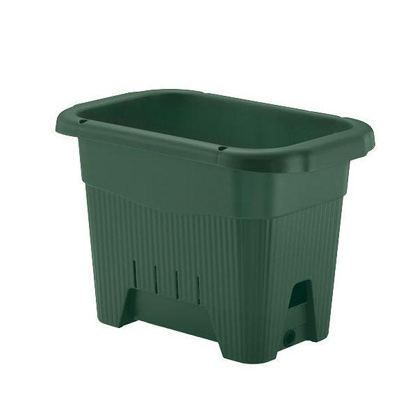 リッチェル 水ラク緑のカーテンプランター45型 プランター 底面給水 ベランダ菜園 家庭菜園 緑のカーテン ガーデニング お一人様1点限り