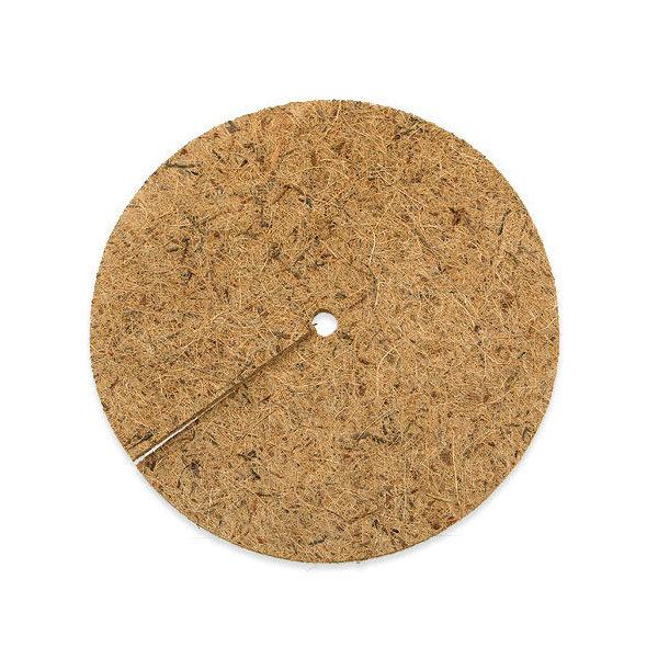 ヤシの繊維円盤マット 直径33cm マルチング バラ 12号 乾燥防止 雑草防止