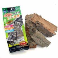 マルカン 天然樹皮 昆虫のくつろ木 容量約1リットル 昆虫 カブトムシ クワガタ レイアウト用品 足場 隠れ家 転倒防止