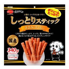 日本ペット ビタワン君のしっとりスティック ささみ・チーズ入り 340g
