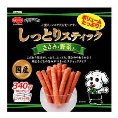 日本ペット ビタワン君のしっとりスティック ささみ・野菜入り 340g
