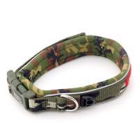 EZYDOG イージードッグ ネオカラー S (首周り32~36cm) グリーンカモ 小型犬用 犬 首輪