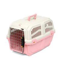 ドギーマン イタリア製ハードキャリー DOGGY EXPRESS M ピンク 犬 猫用キャリーバッグ 航空機対応(8kgまで)