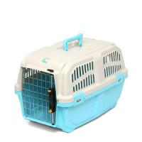 ドギーマン イタリア製ハードキャリー DOGGY EXPRESS M ブルー 犬 猫用キャリーバッグ 航空機対応(8kgまで)