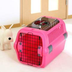 リッチェル キャンピングキャリー M ダブルドア ピンク 犬 猫 キャリーバッグ (8kgまで)