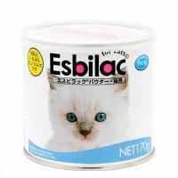 共立製薬 エスビラック パウダー 猫用ミルク 170g 哺乳期・養育期の子猫用 猫 ミルク
