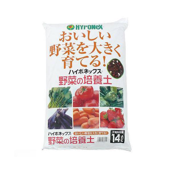 お一人様2点限り ハイポネックス 野菜の培養土 14L
