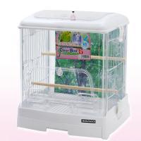 三晃商会 SANKO イージーホーム クリアバード 35WH(ホワイト)(360×340×430) 鳥 ケージ 鳥かご