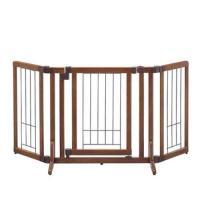 リッチェル 木製おくだけドア付ゲート S 犬・ペット用 ゲート 柵 フェンス 沖縄別途送料