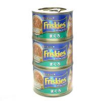 箱売り フリスキートール缶青 まぐろ 155g×3P キャットフード 1箱18個入り