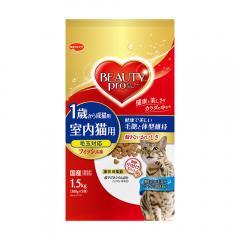 ビューティープロ キャット 成猫用 フィッシュ味 1.5kg(300g×5袋) キャットフード