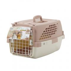 ペットスイート S チョコ(中敷マット付) 小型犬 猫用キャリーバッグ キャリーケース クレート(4.5kgまで)