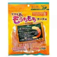 NEO ササミ巻きもっちもち チーズ味 10本入 6袋 犬 おやつ ささみ