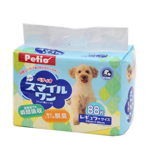 ペティオ NEW スマイルワン レギュラー 88枚 ペットシーツ 犬用 猫用