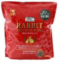 GEX ラビットプレミアムフード 2.2kg ウサギ フード 国産
