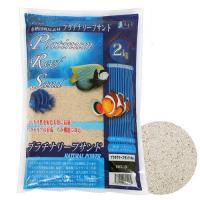 JUN プラチナリーフサンド No.0 超極細タイプ 2kg 海水魚 底砂 サンゴ砂