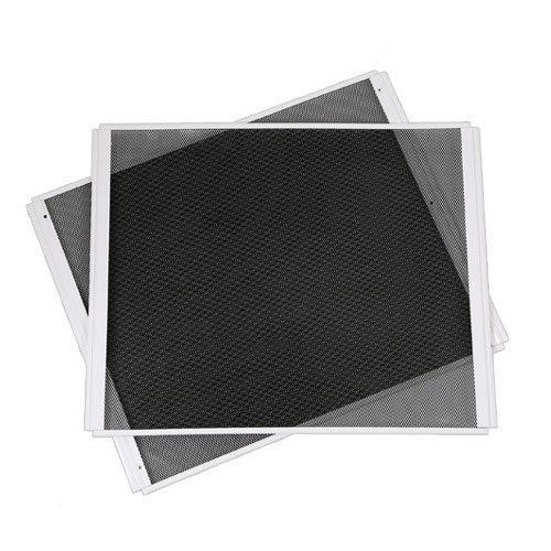 三晃商会 SANKO パンテオン ホワイト 6045用サイドメッシュパネル 大 2枚 交換パーツ
