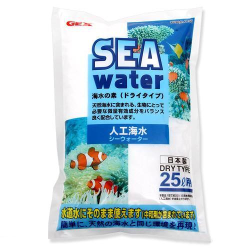 GEX 人工海水シーウォーター 25リットル用 人工海水