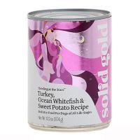 ソリッドゴールド ターキー&フィッシュ缶 374g 正規品 ドッグフード ソリッドゴールド