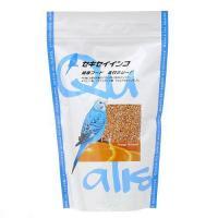 クオリス セキセイインコ健康フード(皮付きシード) 400g 鳥 フード 餌 えさ 種 穀類 2袋入り
