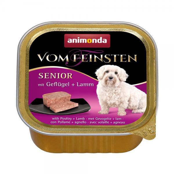 アニモンダ ドッグ フォムファインステン シニア 鳥肉・牛肉・豚肉・子羊肉 150g 3個入り
