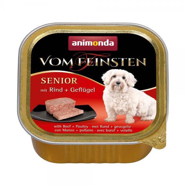 アニモンダ ドッグ フォムファインステン シニア 牛肉と鳥肉 150g 3個入り