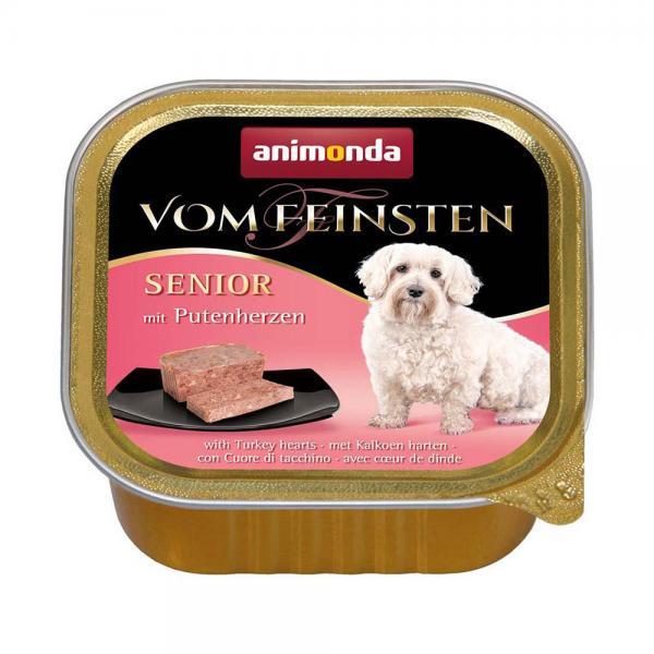 アニモンダ ドッグ フォムファインステン シニア 豚肉・牛肉・七面鳥の心臓 150g 3個入り