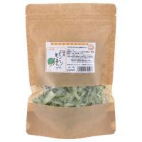 国産 ブロッコリーの葉の茎チップ 50g 小動物のおやつ 無添加 無着色