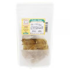 北海道産 メークインスライス 40g 国産 犬用おやつ PackunxCOCOA フルーツ&ベジ 蒸し野菜チップス