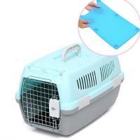 2ドアキャリー 小型犬・猫用 ブルー+ターキー キャリーマット レギュラー ブルーセット 犬 猫 キャリーバッグ キャリーケース
