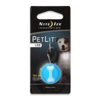 ナイトアイズ ペットリット ブルーボーン LED セーフティライト 犬 猫 夜間 散歩用 LEDライト お散歩ライト