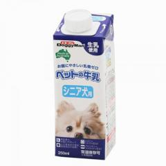 ドギーマン ペットの牛乳 シニア犬用 250ml 24本入り 犬 ミルク