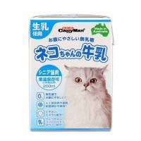 箱売り キャティーマン ネコちゃんの牛乳 シニア猫用 200ml 1箱24本入り 猫 ミルク