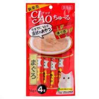 いなば CIAO(チャオ) ちゅ~る まぐろ 14g×4本 6袋入り 猫 おやつ CIAO チャオ ちゅーる