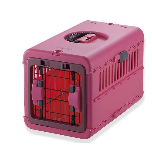 a8fcd5d35de5 LOHACO - リッチェル キャンピングキャリー 折りたたみ S ピンク 犬 猫 ...