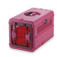 リッチェル キャンピングキャリー 折りたたみ S ピンク 犬 猫 キャリー